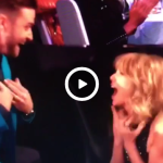 Taylor Swift and Justin Timberlake react to iHeartRadio's Best Lyrics award