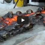 What Happens When Lava Meets Ice?
