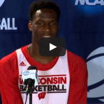Wisconsin Basketball Player Nigel Hayes Has Embarrassing Moment at Press Conference