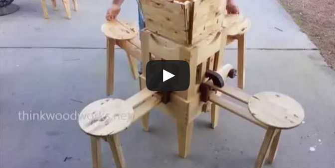 Wow, Incredible Folding Table!