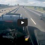 BMW X5 Driver Brake Check A 40-Tonne Truck