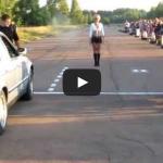 Car vs Bike – Drag Race fail