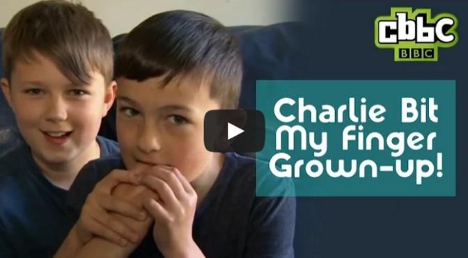 Charlie Bit My Finger boys grow up