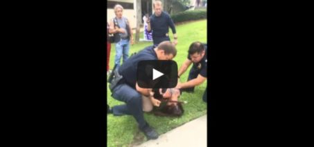 Disrespect of the American Flag – Woman Arrested
