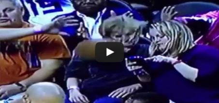 Distracted Fan Gets Hit In The Face (Charlotte Hornets vs Sacramento Kings Game)
