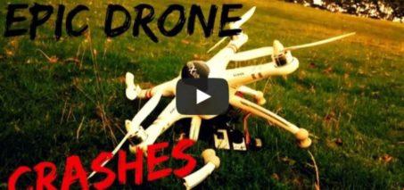 Extreme Drone Crashes – Compilation 2015