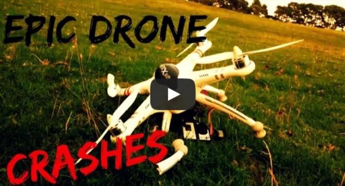 Extreme Drone Crashes - Compilation 2015