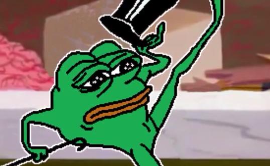Hello Darkness My Old Friend Frog Meme