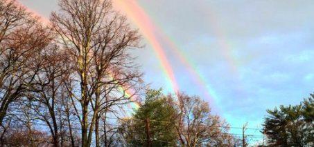 Quadruple Rainbow / Double Double Rainbow Pictures
