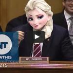 Senator Pat Robert's Frozen 'Let It Go' Ringtone Goes Off During Hearing