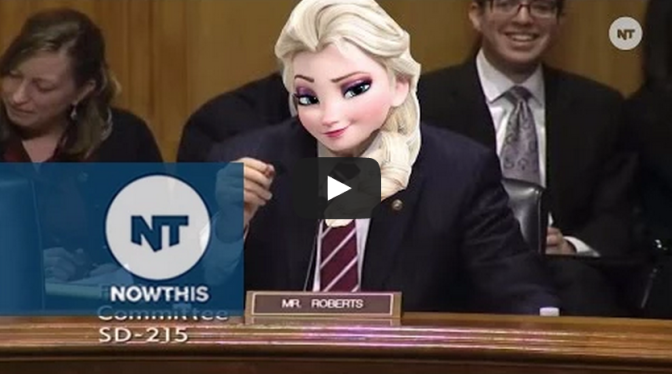 Senator Pat Robert's Frozen 'Let It Go' Ringtone