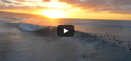 Surf From Above   Oahu's North Shore in 4K