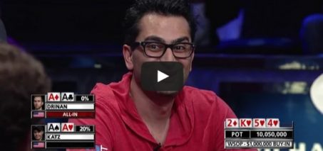 Craziest Poker Hand Ever! MUST SEE! $1 million buy-in WSOP 2014