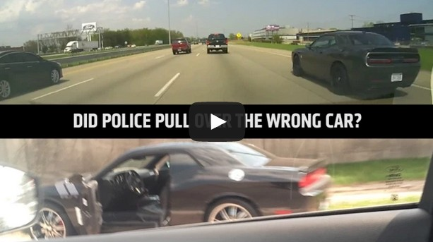 Does This Video Show Police Arresting The Wrong Driver?