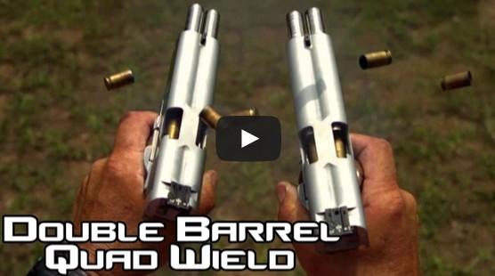 Double Barreled 1911 pistols