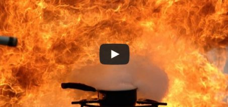 Explosive Oil Fire at 2500fps – The Slow Mo Guys