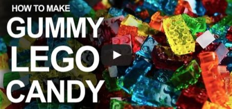 How To Make LEGO Gummy Candy!