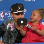 Riley Curry Returns for a Post-Game Encore Performance