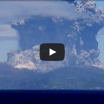 Volcanic Eruption in South Japan @ Mount Kuchinoerabujima / Shindake