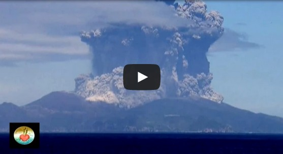 Volcanic Eruption in South Japan @ Mount Kuchinoerabujima / Shindake