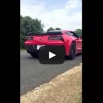 brand new c7 corvette Z06 z07 crash ORIGINAL PRIVATE VIDEO