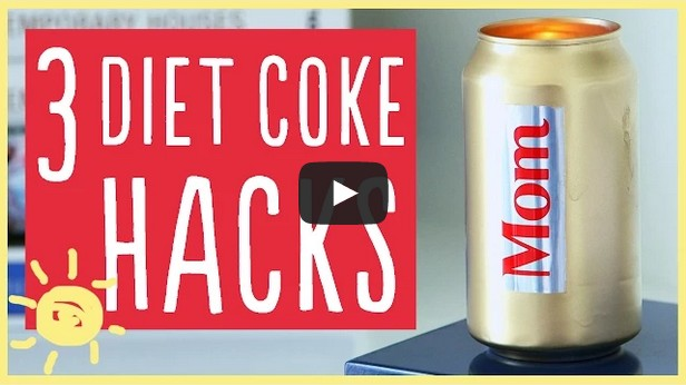 3 diet coke hacks