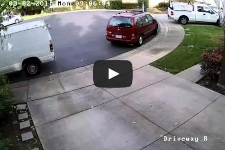 Amazon/Ontrac delivery van hits my minivan twice