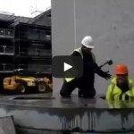 Construction Workers Play Whack-A-Mole