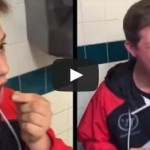 """Don't Swallow It!"" Clueless Kid Swallows Ghost Pepper, Instantly Regrets It"