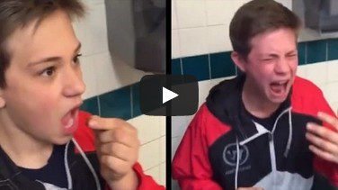"""""""Don't Swallow It!"""" Clueless Kid Swallows Ghost Pepper, Instantly Regrets It"""