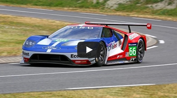 Ford GT Returns to Le Mans 2016