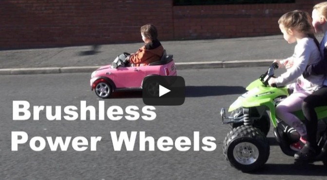 Brushless Power Wheels Conversion