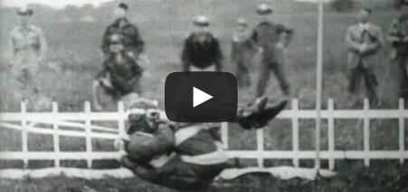 Historic Archival Stock Footage WWII Full Speed Plane Pick-up