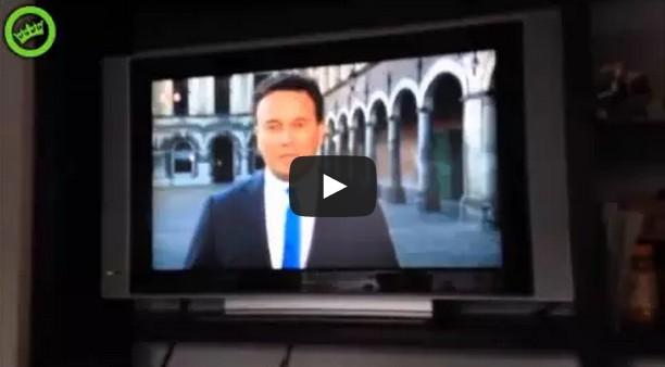 NOS Journaal videobombing