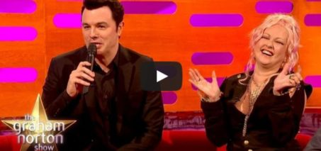 Seth MacFarlane Sings Cyndi Lauper's Greatest Hits As Stewie and Peter Griffin