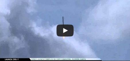 SpaceX – CRS-7 Launch explosion
