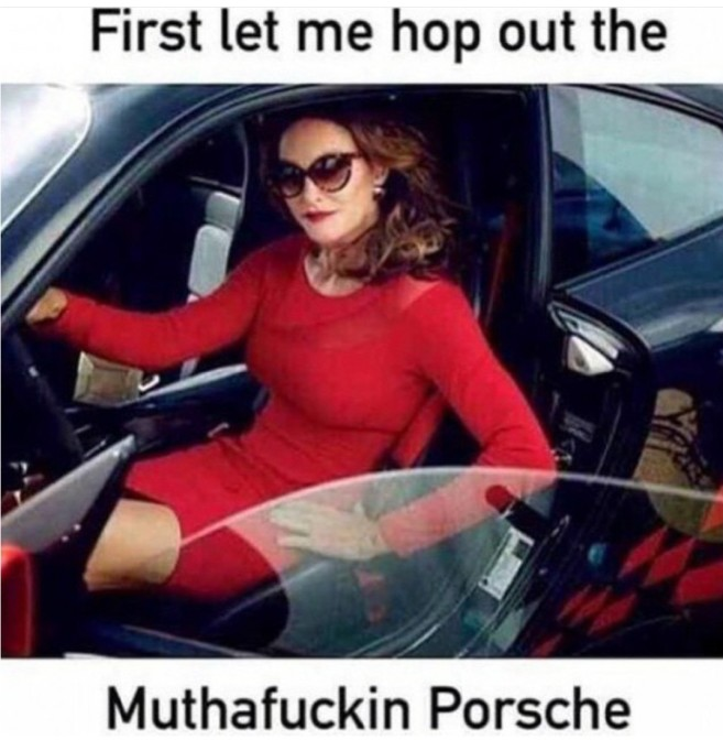 first let me hop out the muthafuckin porsche