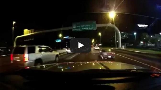 Bad accident in Tampa Jeep vs Silverado