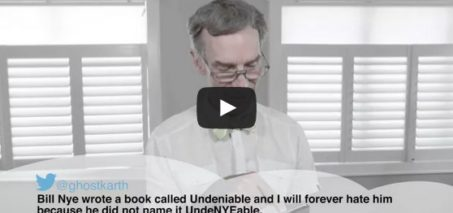 Bill Nye Reading Mean Tweets– The Bill Nye Film