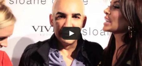 Billionaire Alki David Farts into Microphone on Red Carpet