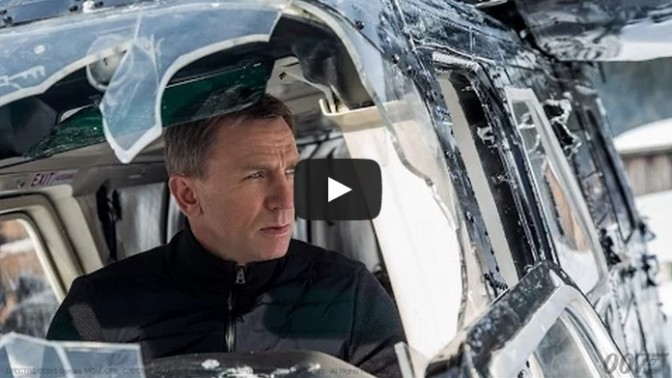 NEW SPECTRE TRAILER James Bond 007