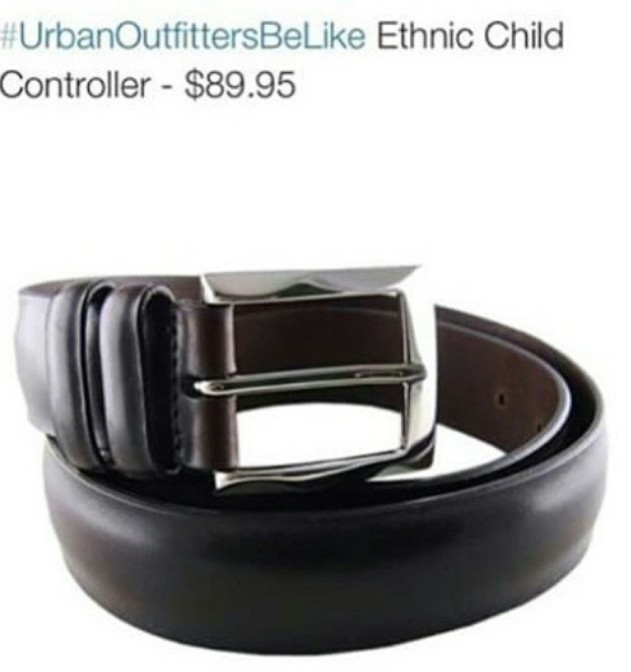 Urban Outfitters be like ethnic child controller $89.95