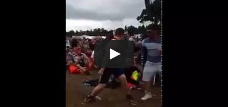 """Watch Guy dancing """"Uptown Funk"""" at 'T in the Park'"""