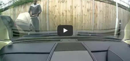 Aston Martin keyed in Hackney, London