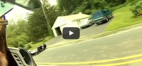 Double Motorcycle Crash Epic Ending – I Am 911