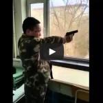 How North Koreans Shoot Guns Video