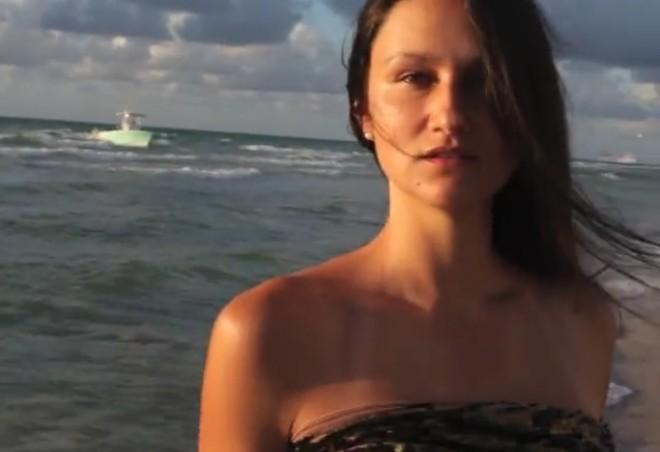 Illegal immigrants interrupt model's video shoot in Miami