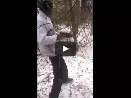 My Friend Shooting A Sawed Off Shotgun Fail