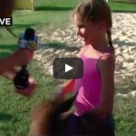 Pony Kicks Girl on Live TV News Blooper