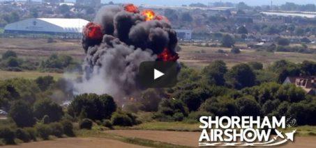 Shoreham Air Show, Sussex – Plane Crash